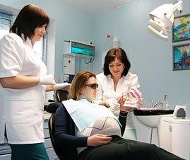 Удаление зуба у беременных температура