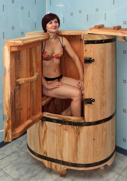 Японская баня своими руками фото