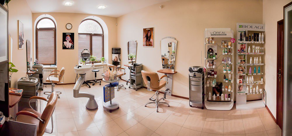 Центр красоты белый лотос, парикмахерский зал