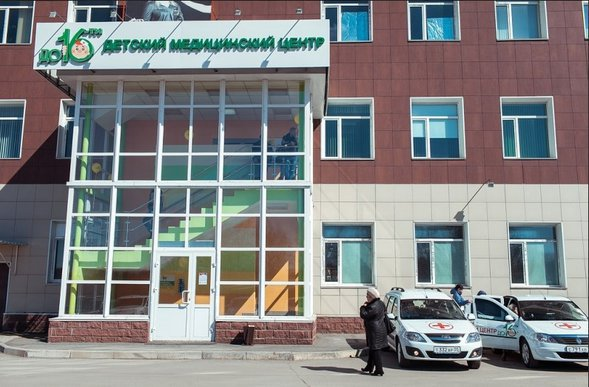 омск детская больница до 16 Нина Васильевна, место