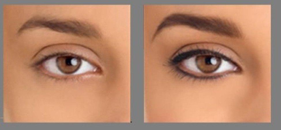 размер фото перманентного макияжа глаз старых